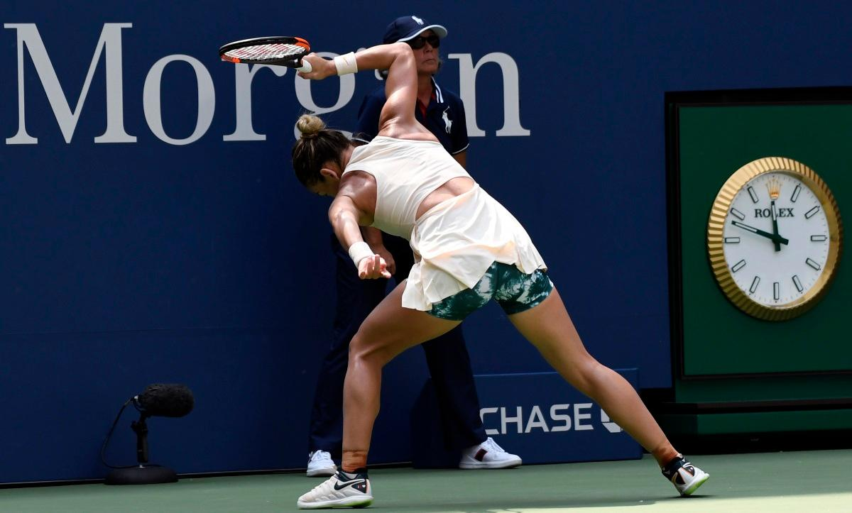 Halep Keeps Cool After Defeat