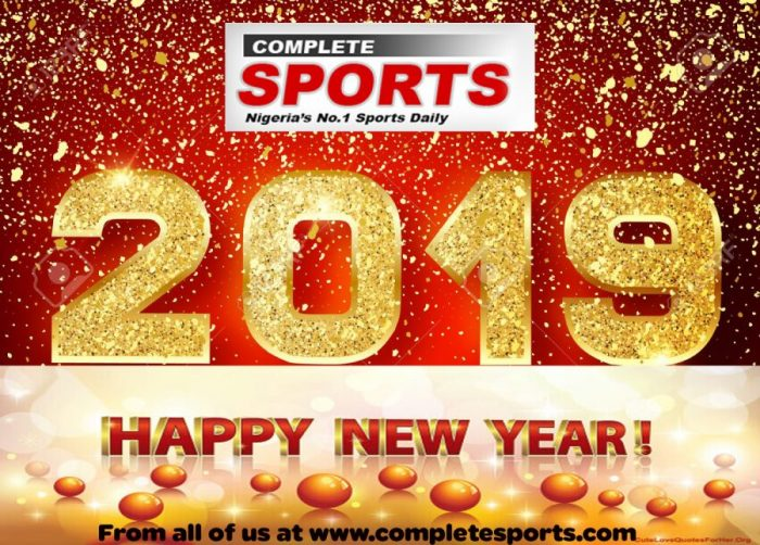 Best Wishes Of The New Year To Our Readers