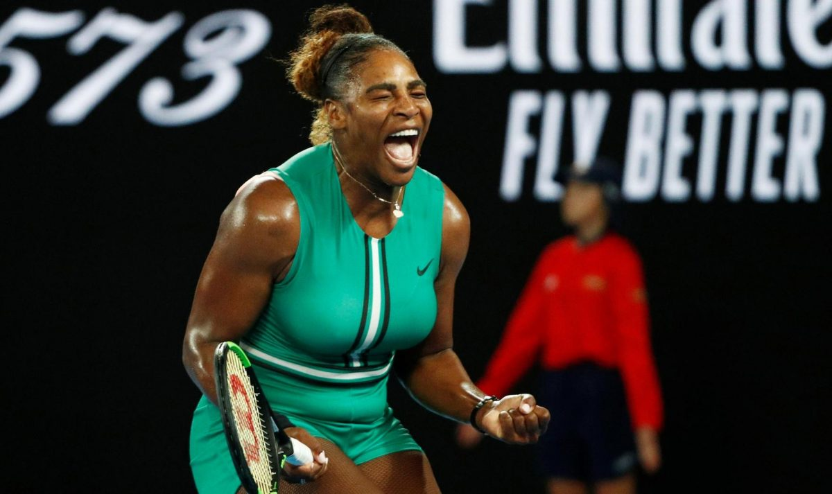 Serena Williams Sinks Halep To Reach QFs