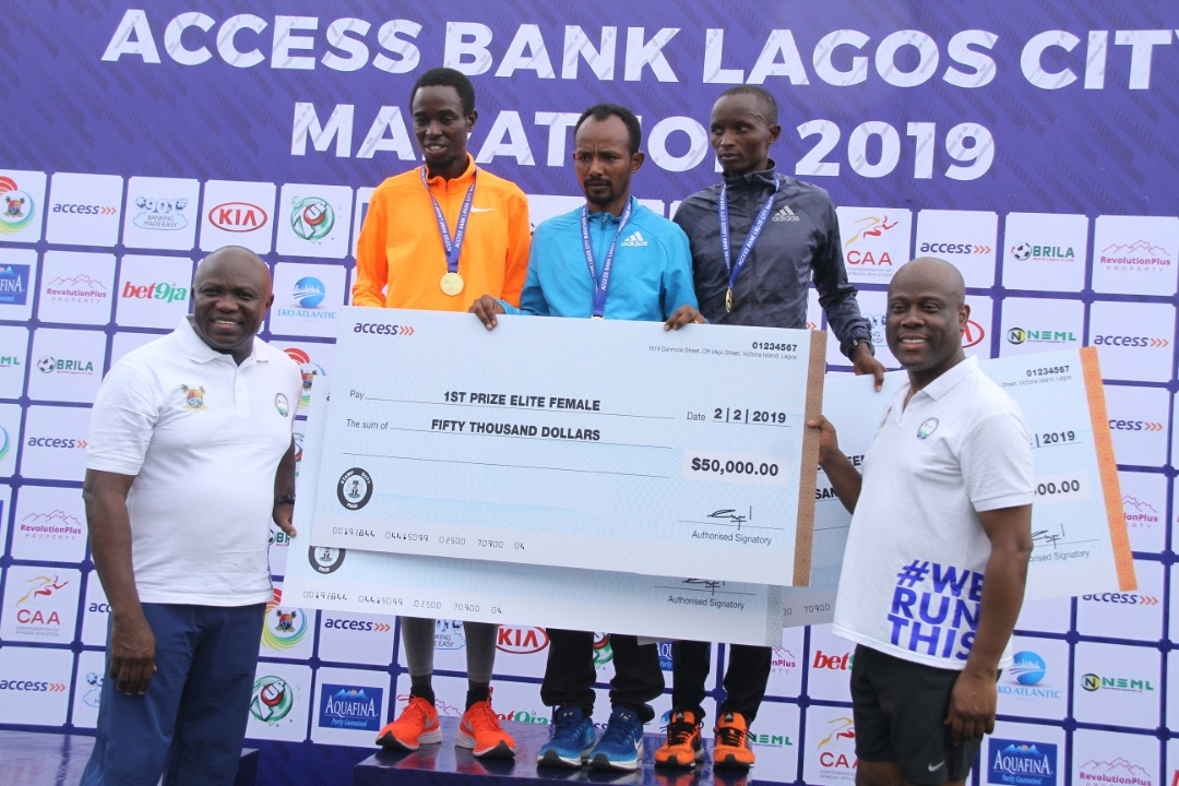 2019 Access Bank Lagos City Marathon: No losers, Only Winners