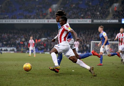 Scotland Ace Adam Hails Etebo's Impact At Stoke City