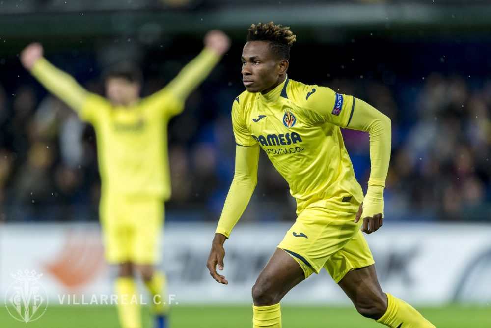 Europa League: Chukwueze's Villarreal Face Zenit, Iwobi's Arsenal Clash With Rennes In Round of 16
