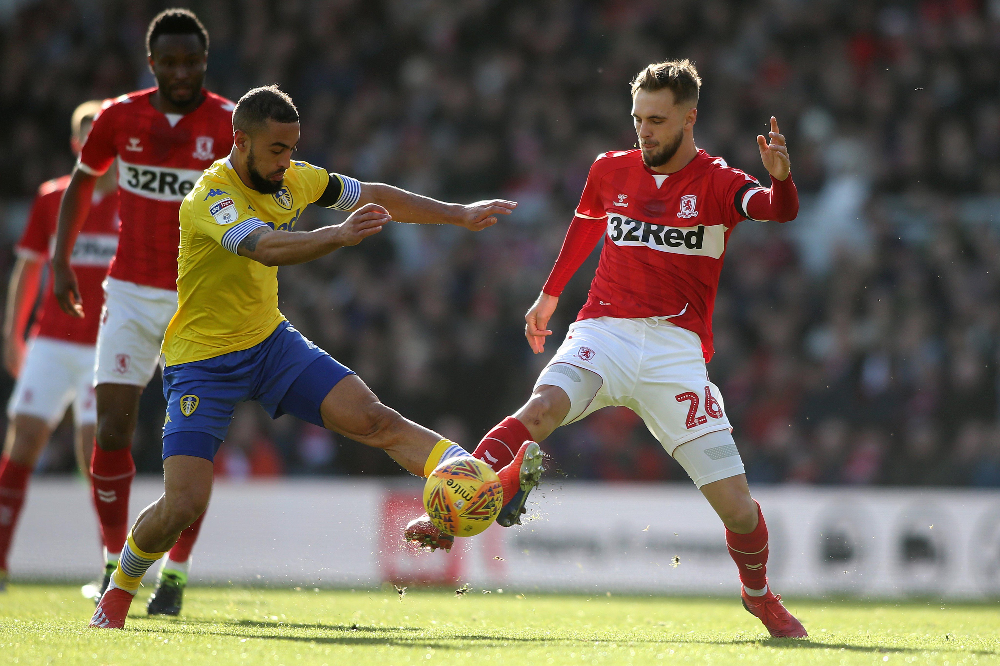 Championship: Mikel Features Full-Time In Boro Home Draw Vs Leeds United