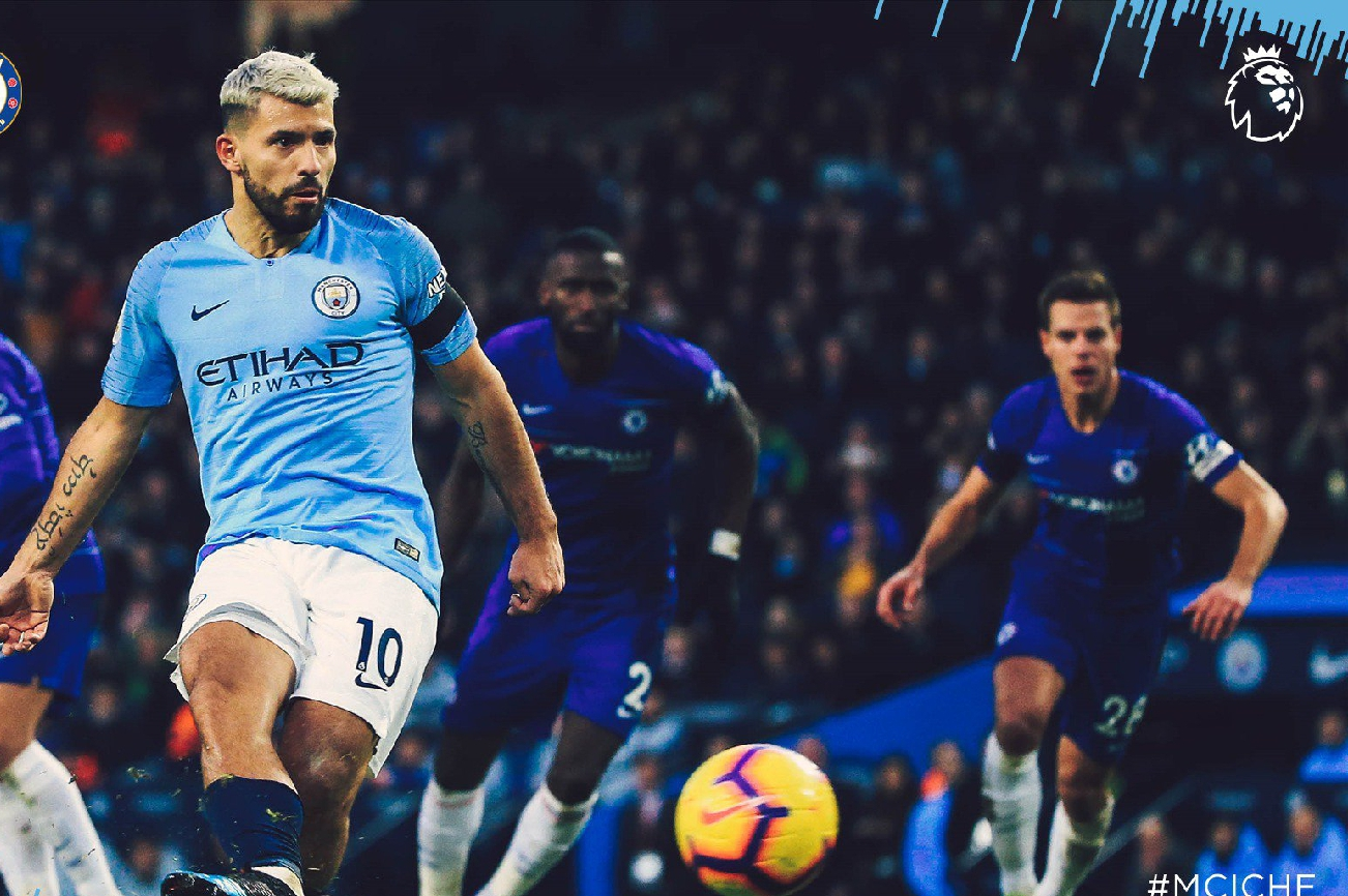 Aguero Equals Shearer's Hat-Trick Record As Ruthless Man City Maul Miserable Chelsea 6-0