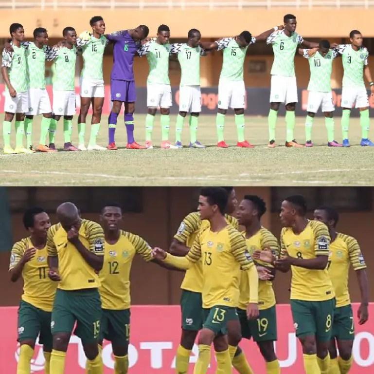 U-20 AFCON; Flying Eagles, Amajita Battle For Third Position