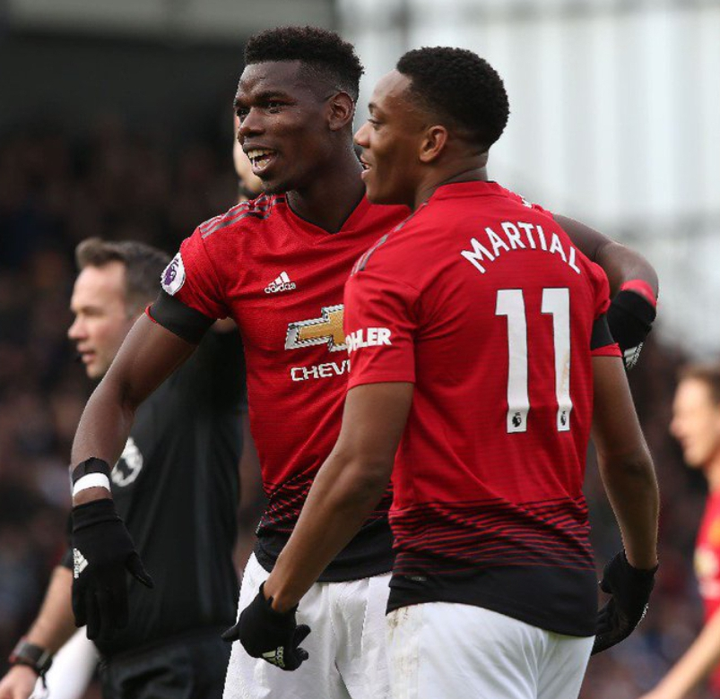 Pogba Hits Brace As Manchester United Maul Fulham 3-0