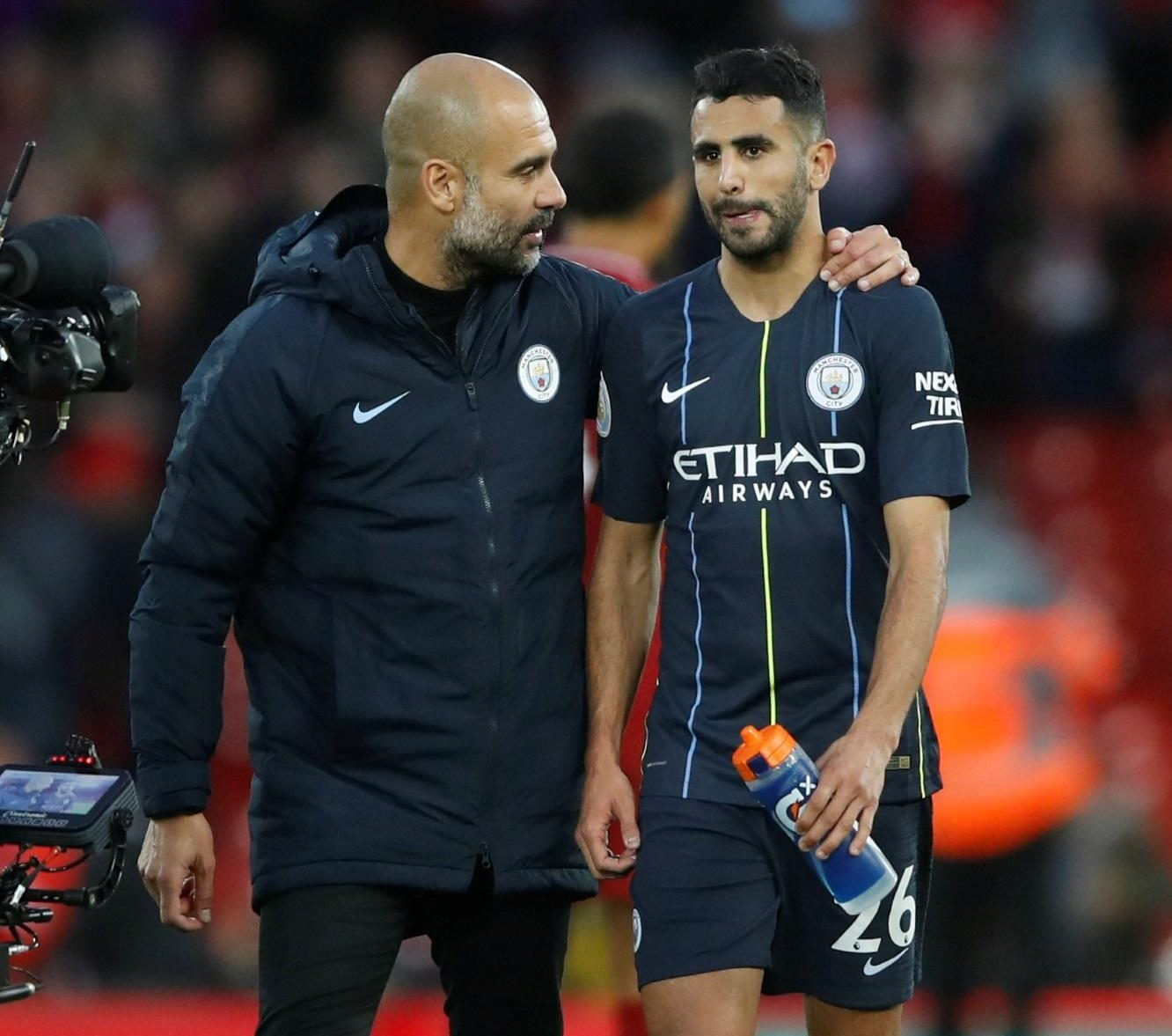 All Not Well In The Mahrez Camp