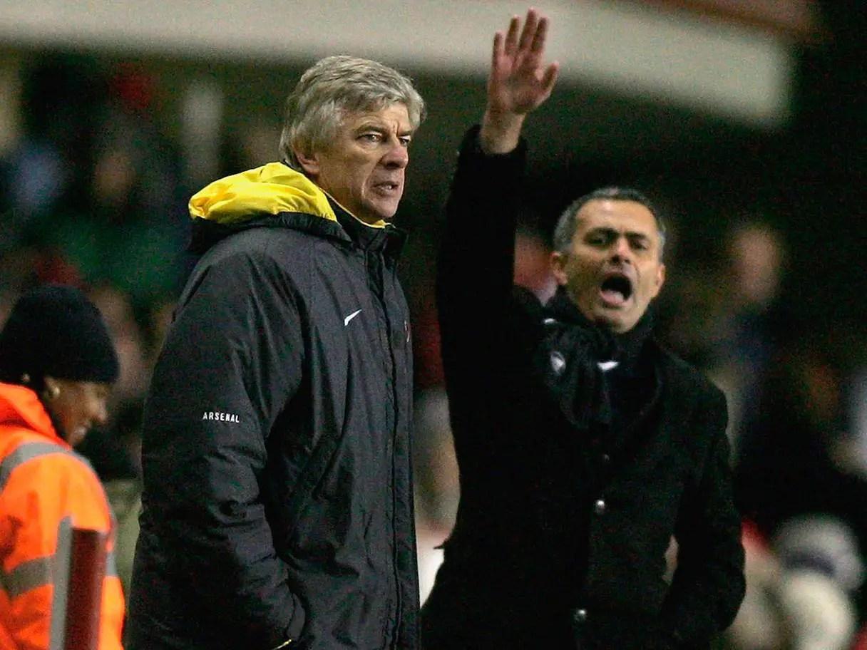 Mourinho: Wenger And Ferguson Were My Sweet Enemies