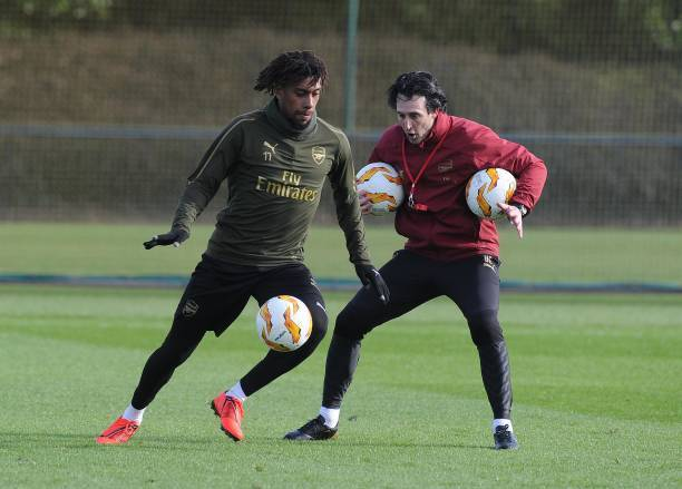 Emery: Iwobi Will Get Better With More Hard Work