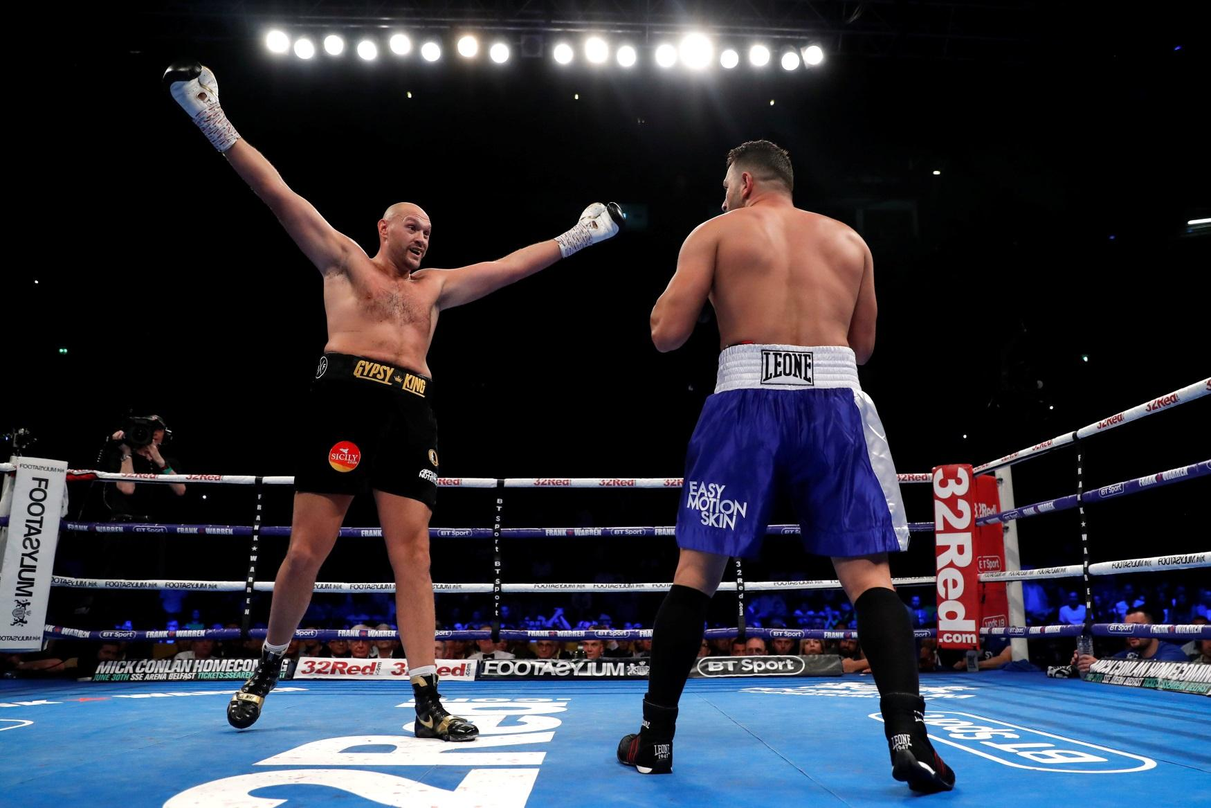 Fury Set For Big Pay Day – Completesports