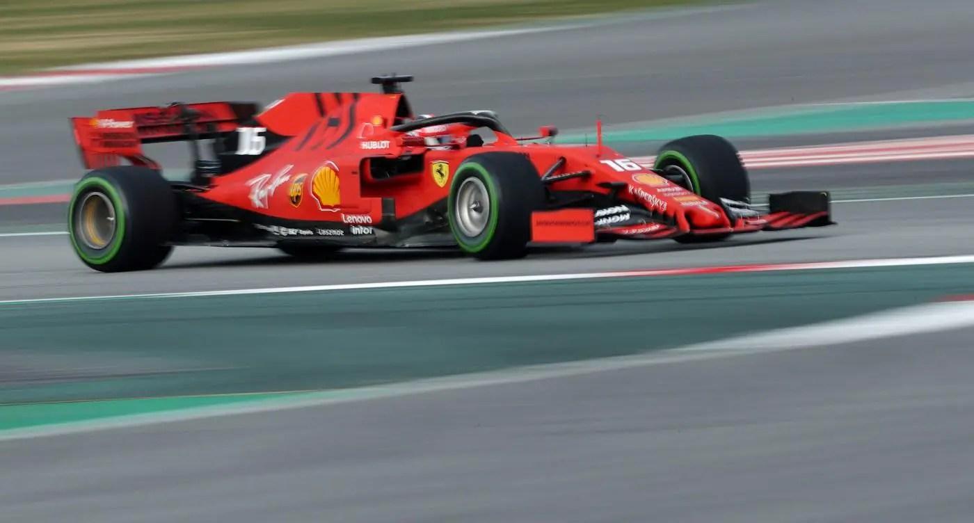 Leclerc Sets The Pace For Ferrari