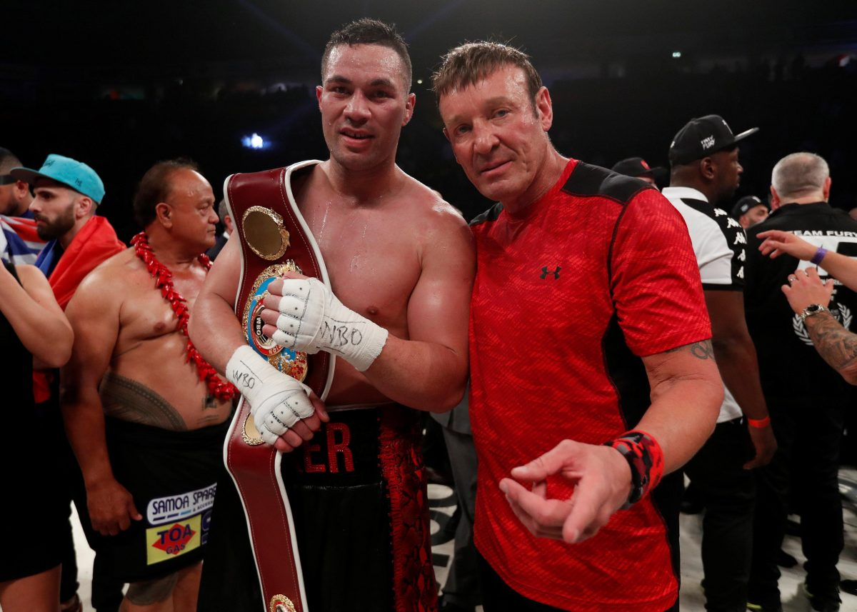 Parker Interested In Chisora Clash
