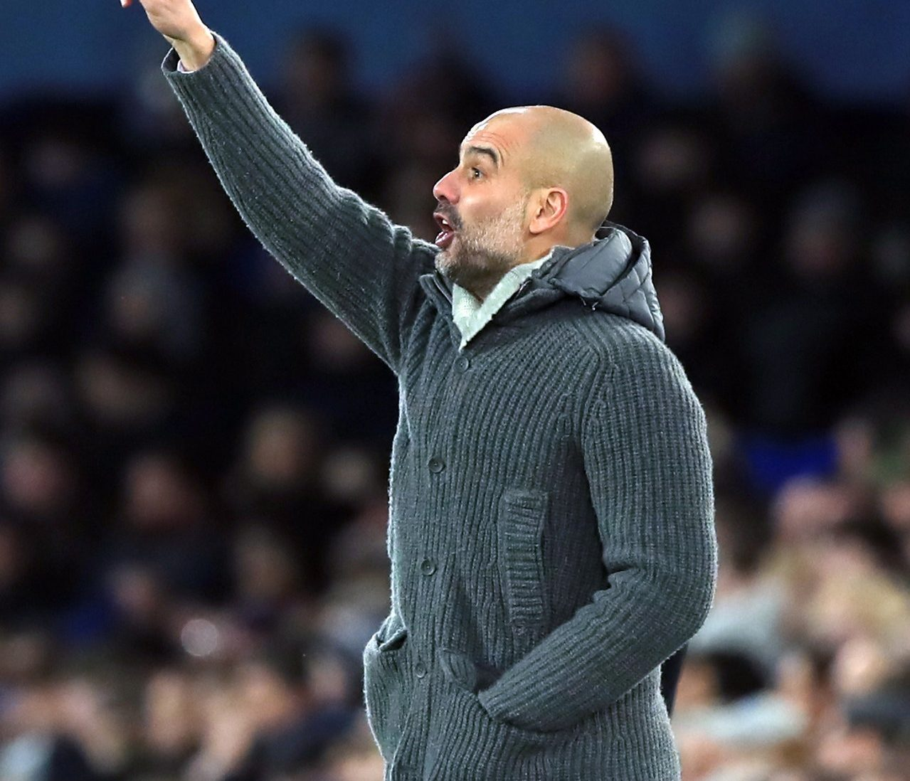 Pep Throws Down Challenge To Reds