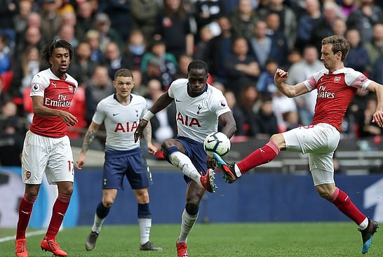 Iwobi Features Full-Time In Arsenal Draw At Tottenham Hotspur