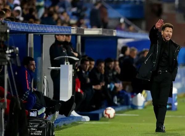 Simeone: Atletico Will Fight For LaLiga Title Until Last Breath