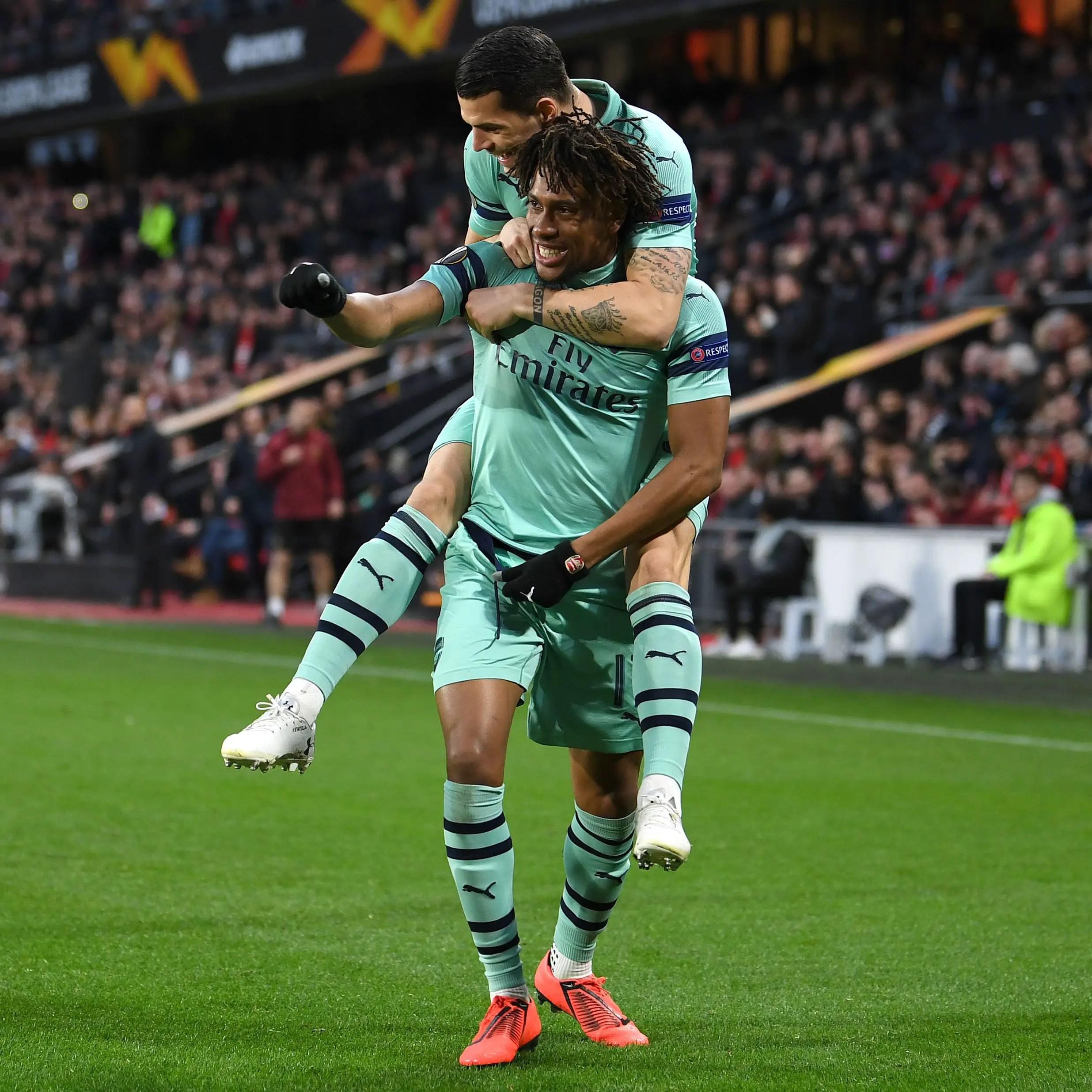 Europa League:  Iwobi Hopeful Of Arsenal Comeback Vs Rennes