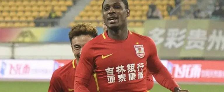 CSL: Ighalo Scores In Shanghai Shenhua Defeat To Hebbei CFFC