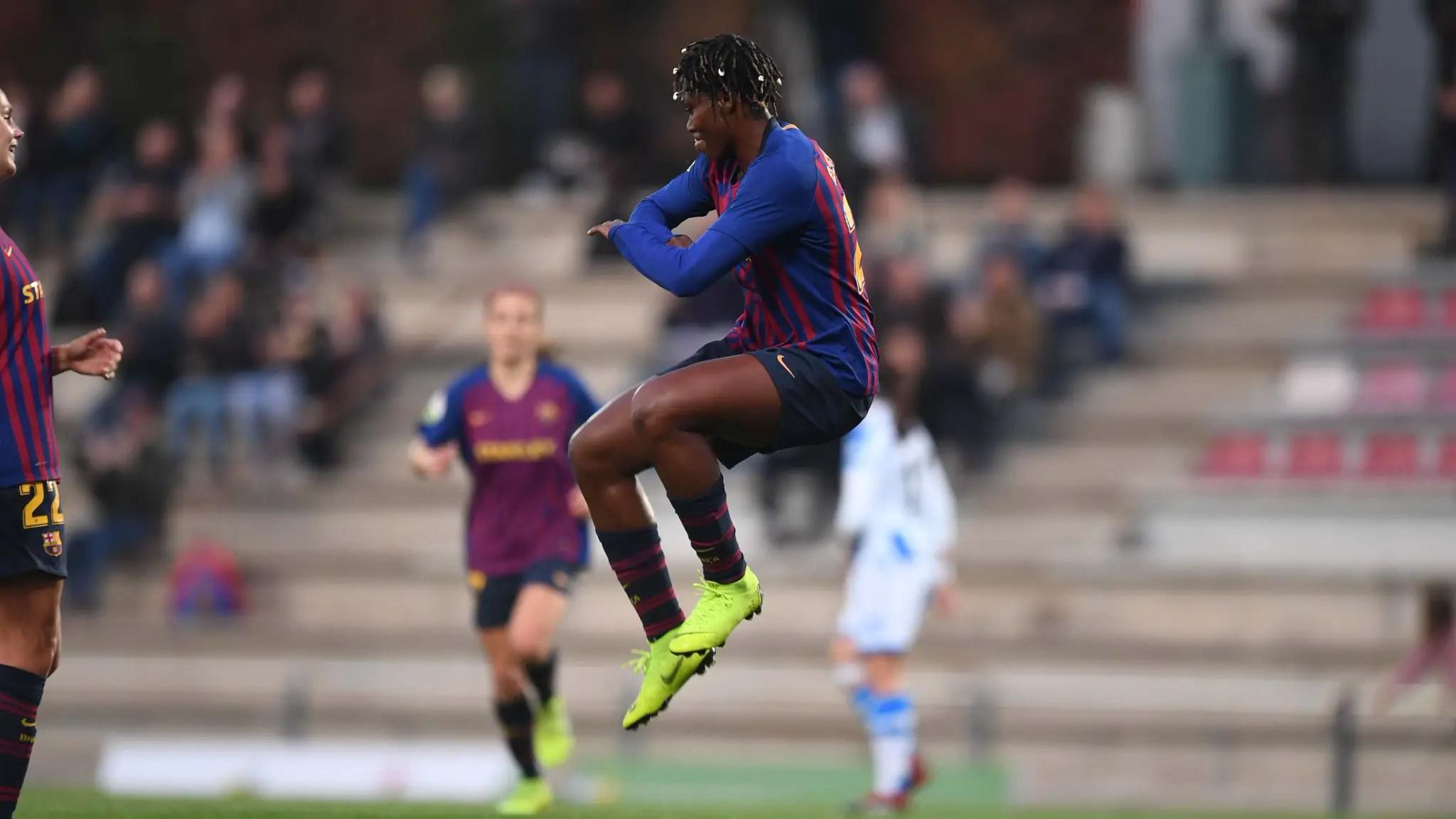 Oshoala Scores For Barcelona Ladies In 4-1 Win Vs Real Sociedad
