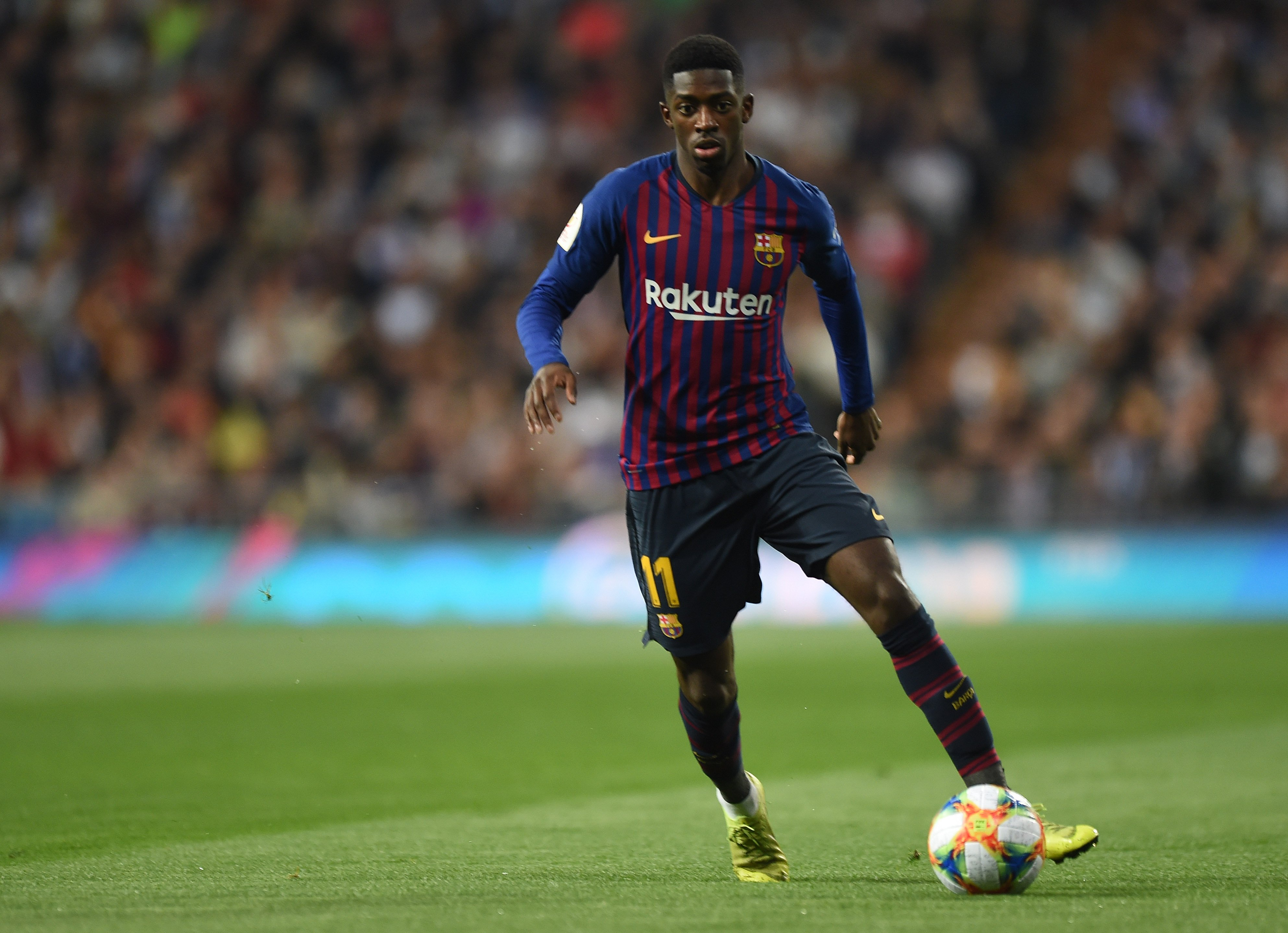Dembele Out Of Barcelona Games For Four Weeks Over Injury
