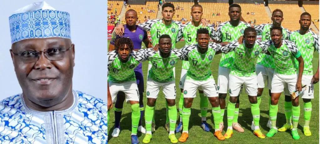 Atiku Backs Super Eagles To Beat Seychelles In Asaba
