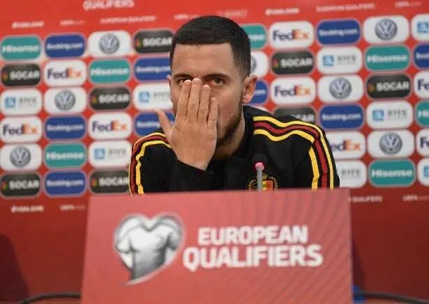 Hazard Laughs Off Real Madrid Rumours