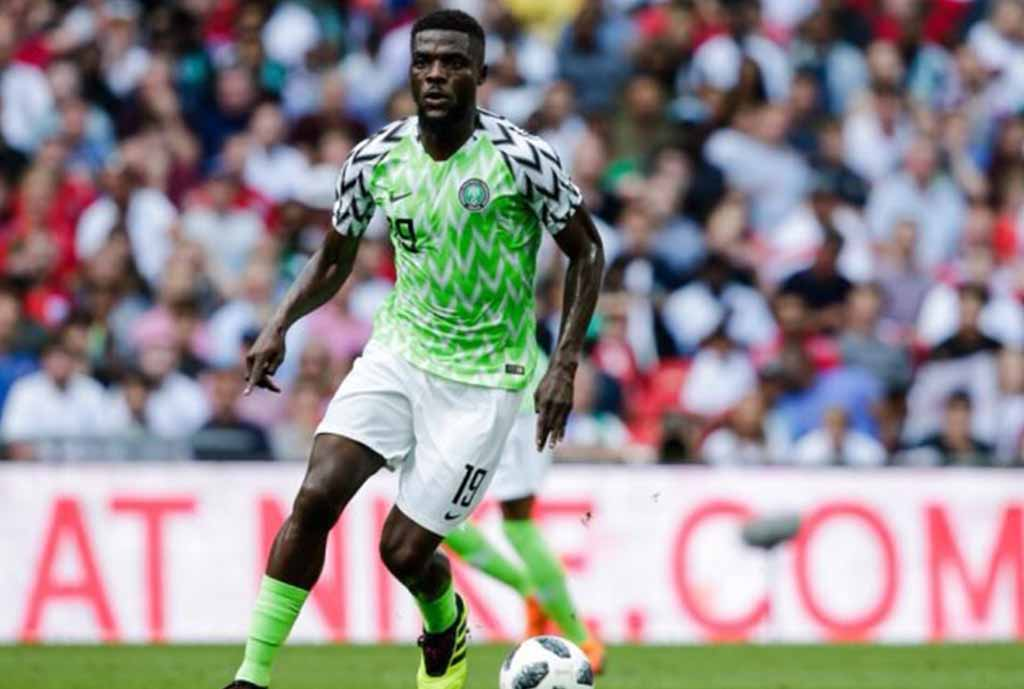 Ogu Happy To Have Father At Stadium Vs Egypt,  Allays Fears Over Injury