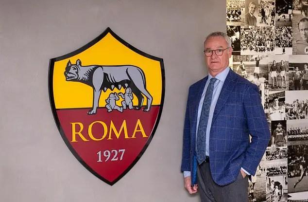 Serie A: AS Roma Appoints Ranieri