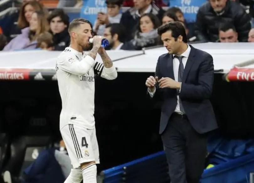 Solari: Real Madrid Missed Captain Ramos Vs Ajax