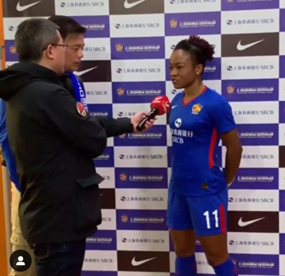 Ordega Confirms Shanghai Shenhua Switch, Thankful To God