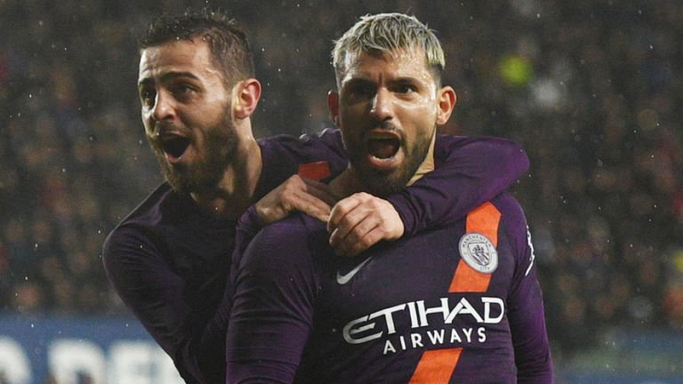 Man City Pip Swansea 3-2 To Keep Quadruple Chase Alive