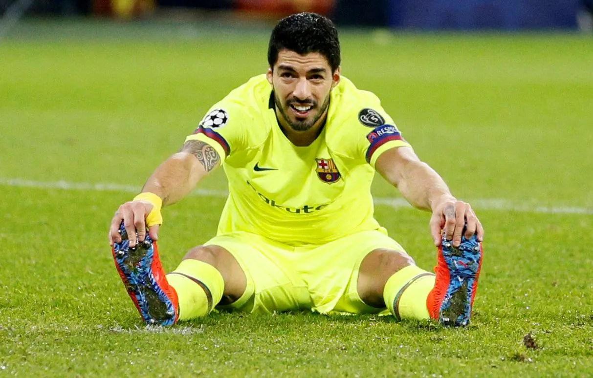 Barcelona Hit By Suarez Blow