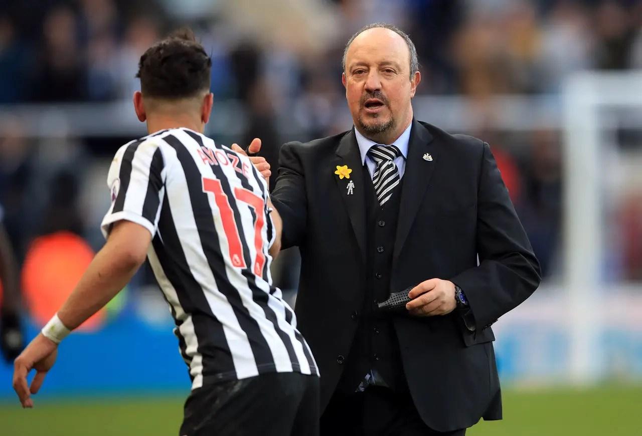 Benitez Relaxed Over Perez Future
