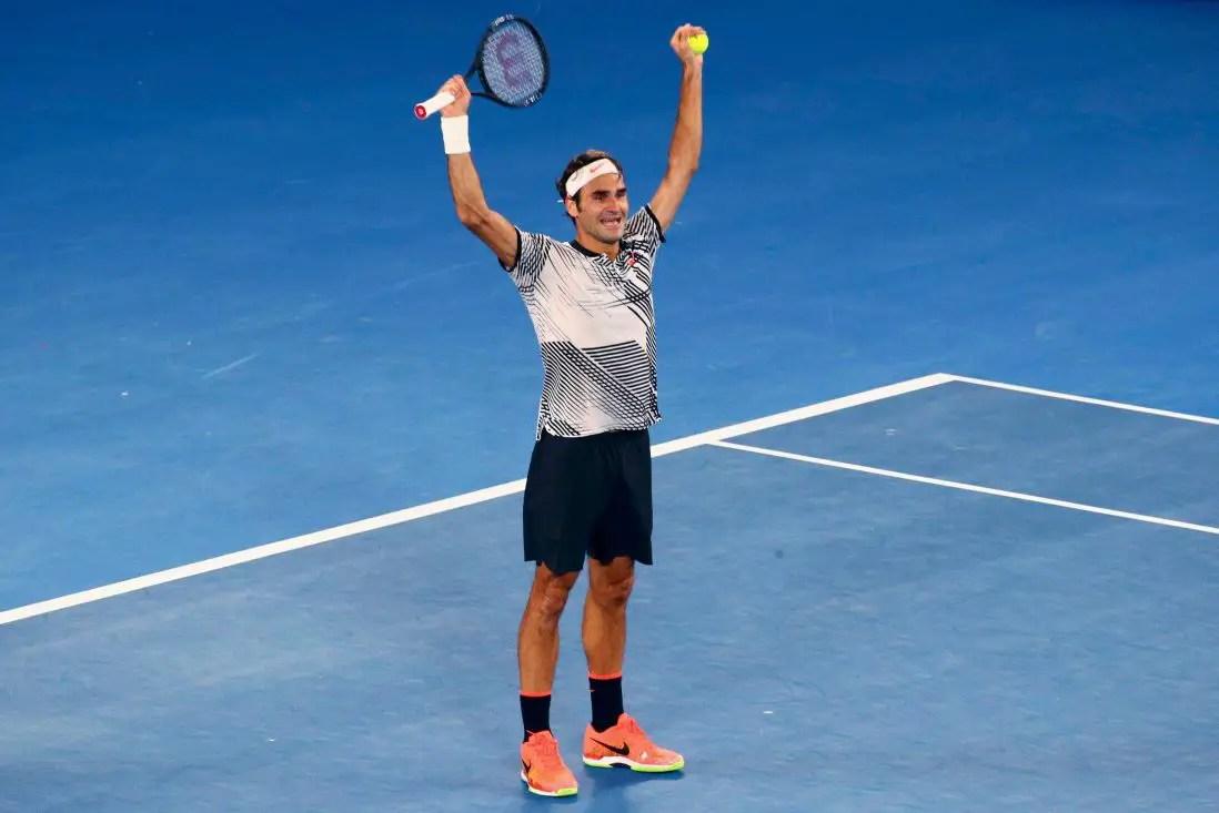 Federer Revels In Landmark Win