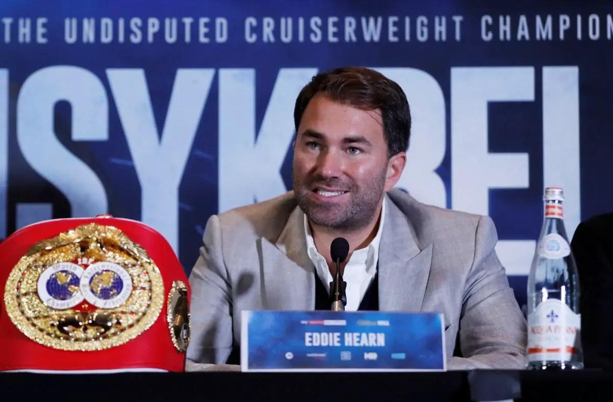 Hearn Confirms AJ-Wilder Fight 'Desire'