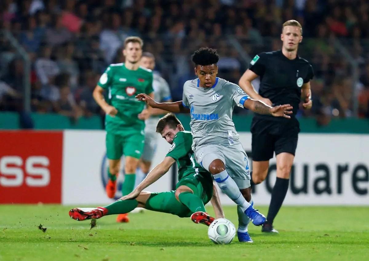 McKennie Concern For Schalke