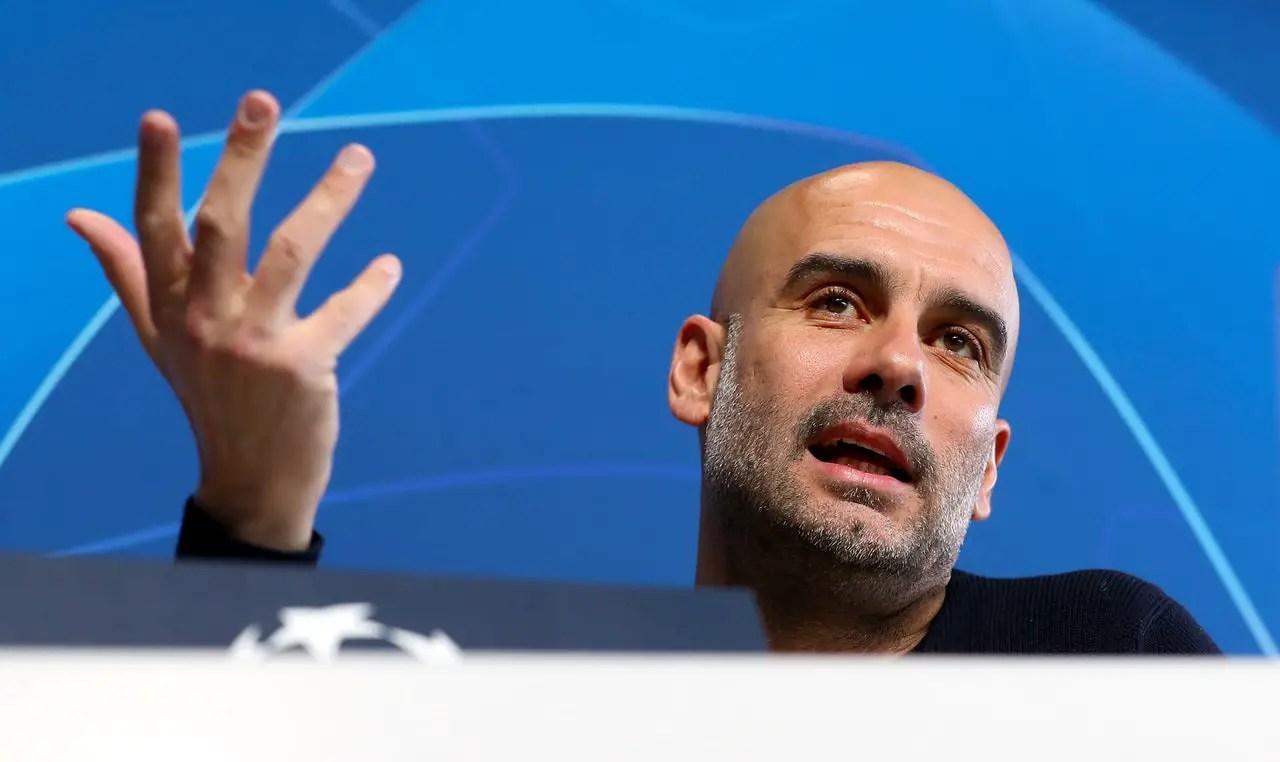 Guardiola Plays Down Euro Chances