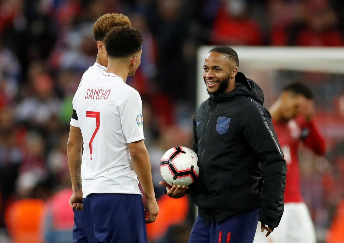 Southgate Hails Sterling's Leadership Qualities