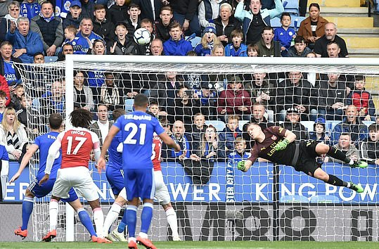 Ndidi, Iwobi Subbed Off At Half Time As Leicester City Bag Home Win Over 10-Man Arsenal
