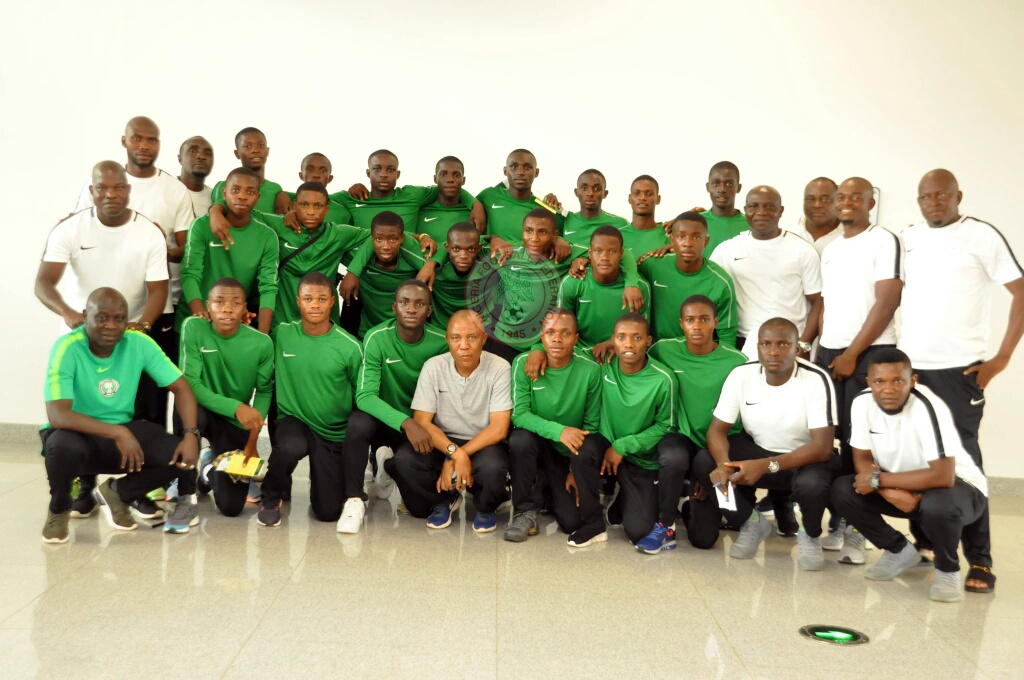 Golden Eaglets Off To Tanzania For U-17 AFCON
