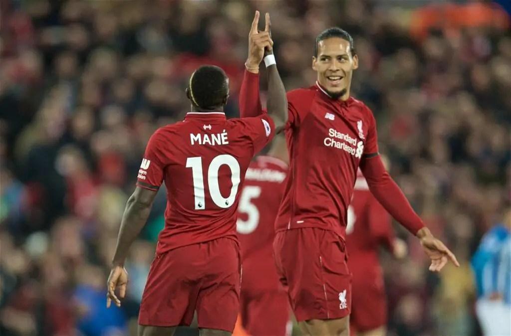 EPL: Five- Star  Liverpool Thrash Huddersfield To Regain Top Spot