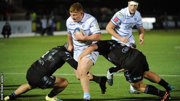 Blues Starlet To Join Saracens