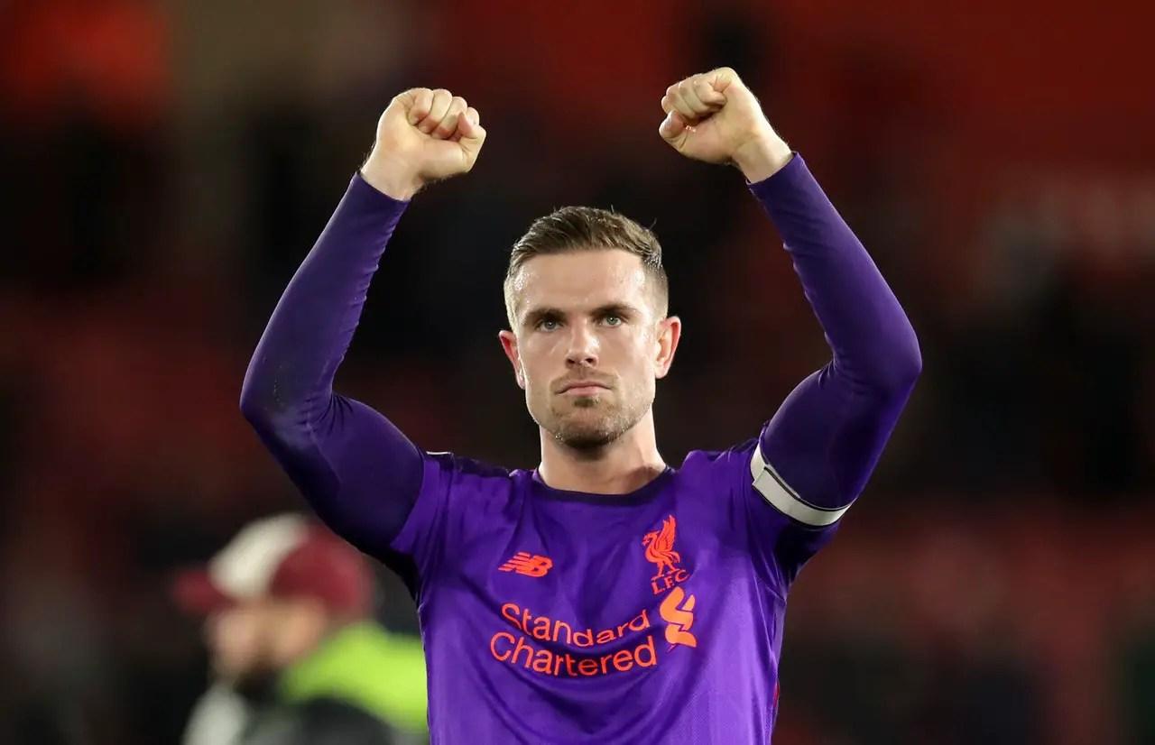 Henderson Credits Klopp For Liverpool's Late-Goal Habit