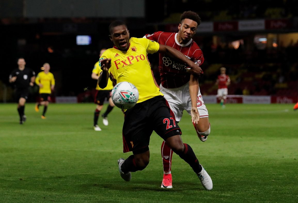 Kabasele Eager For Success In 'Most Important Week'