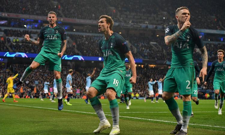 UCL: Tottenham Edge Man City As Liverpool Thrash Porto