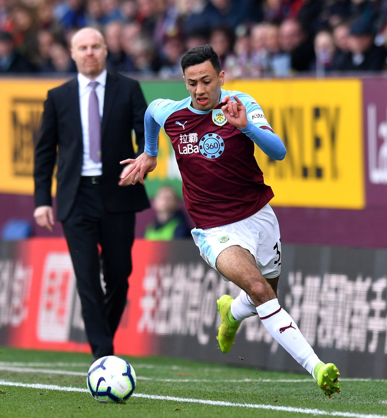 Dyche – McNeil Will Not Be Distracted