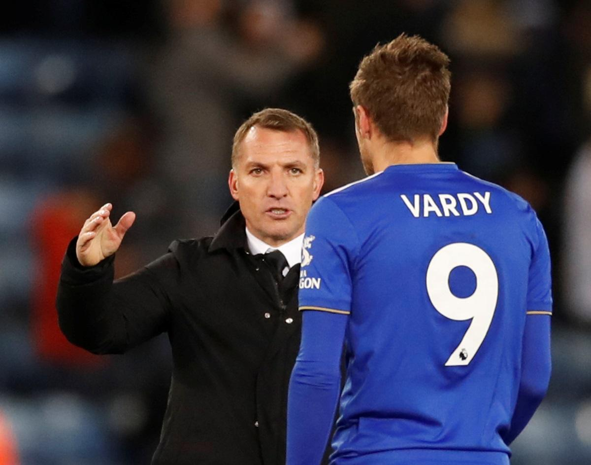 Rodgers Wants To Find Solutions For Vardy