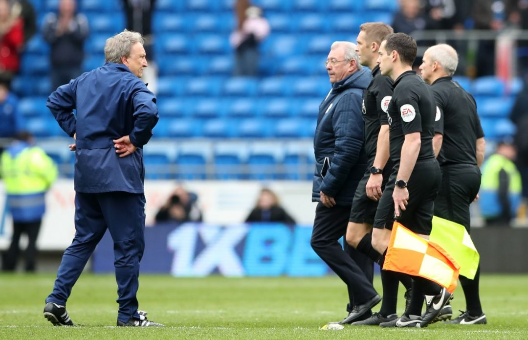 Warnock Blasts Officials As Cardiff Lose