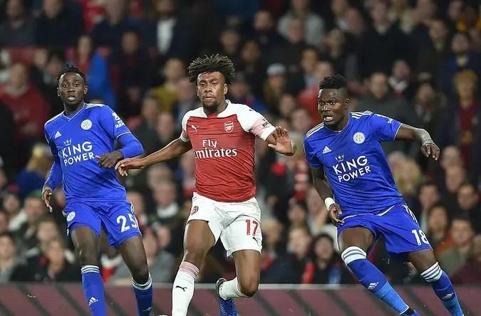 EPL: Ndidi, Iheanacho Out To Disrupt Iwobi's Arsenal Top Four Bid