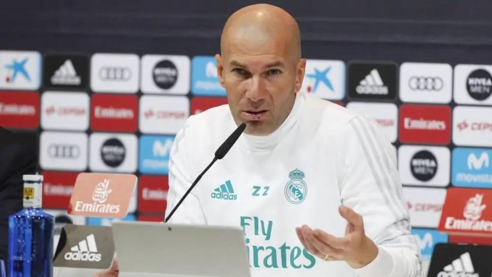 Zidane Keeps Cool As Real Lose