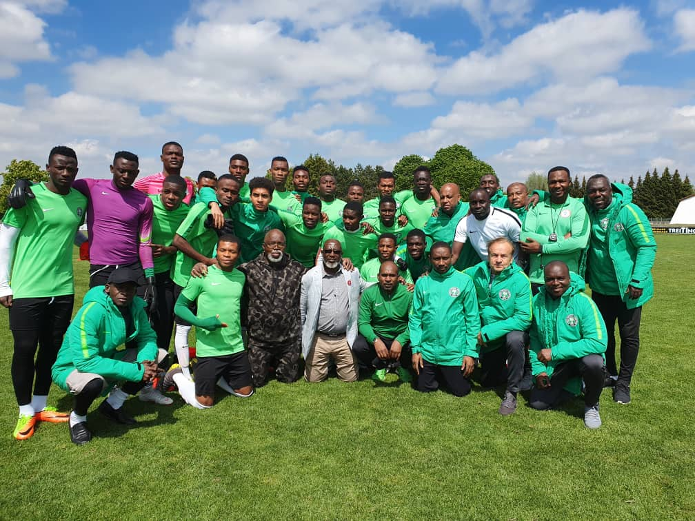 FIFA U20 WC: Pinnick Charges Flying Eagles To Go For Glory In Poland